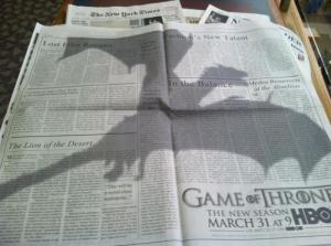 Game-of-Thrones-ad-in-New-York-Times