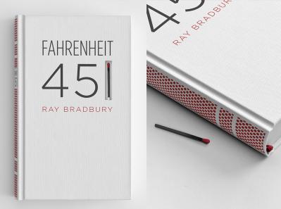 Fahrenheit 451 book cover - Eli Perez