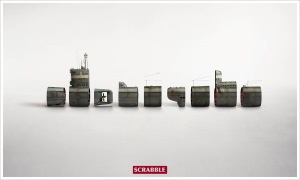 Scrabble -Submarine