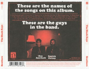 The Black Keys - Brothers (back)