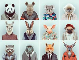 Yago Partal - Zoo Portraits (Multiples)