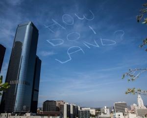 Sky writing