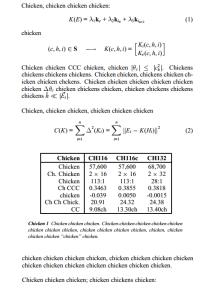 Chicken 6