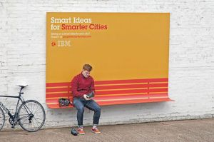 IBM billboard - Seat