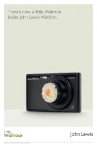 John Lewis & Waitrose - Camera