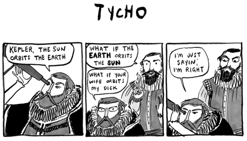 Kate Beaton - Kepler