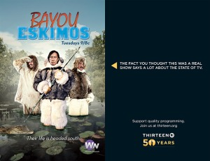 Thirteen -Reality - Bayou Eskimos