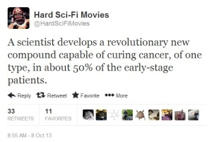 hard sci fi movies - Cancer cure