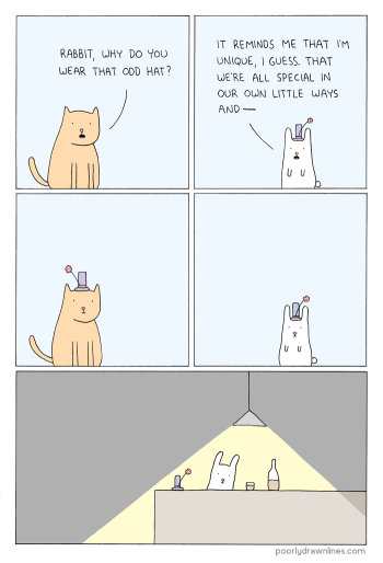 Poorly Drawn Lines - Odd Hat