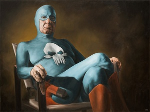 Aging Superhero - Andreas Englund (Sitting)