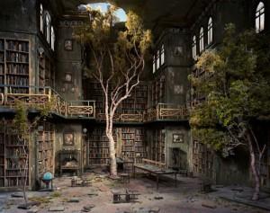 Lori Nix -Dioramas (Library)