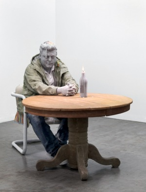 Man candle 1 - Urs Fischer