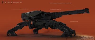Vitaly Bulgarov - Black Phoenix - Arachnid Tank (Specs)