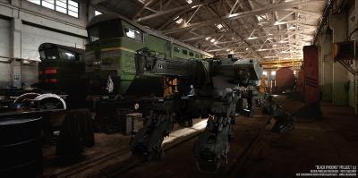 Vitaly Bulgarov - Black Phoenix - Arachnid Tank