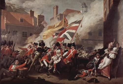 John Singleton Copley - The Death of Major Peirson