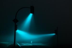 Lucas Zimmermann - Traffic Light (Blue Green)