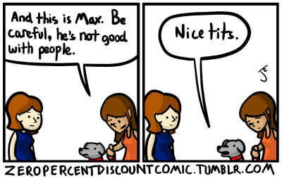 zeropercentdiscountcomic - Bad Dog