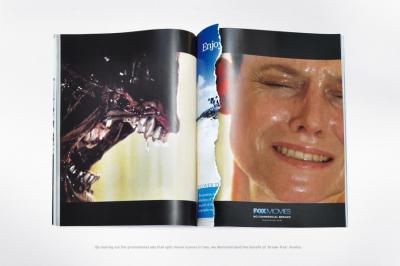 No commercial break ad - Alien