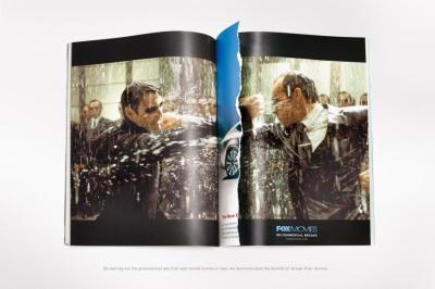 No commercial break ad - The Matrix