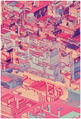 Pixel City 1 - Atelier Olschinsky