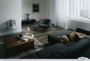 Villaarena ad living room (after)