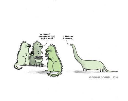 Hummus - Gemma Correll