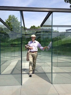 Glass Labyrinth - Robert Morris (Artist)