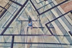 Glass Labyrinth - Robert Morris (Top down)
