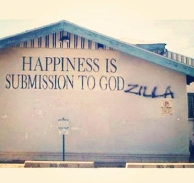 Submit to Godzilla