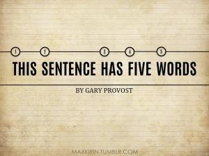 Five words 1