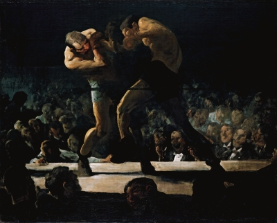 George Bellows - Club Night [1907]