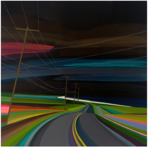 Night Time on old Montauk Highway - Grant Haffner