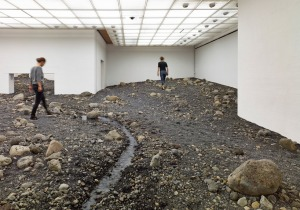 olafur eliasson - riverbed (4)