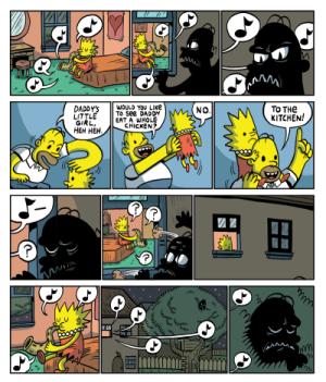 KC Green - The Ballad of Dark Homer (2)
