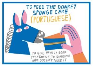 Donkey idiom