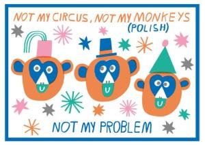 Monkey idiom