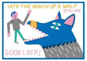 Wolf idiom