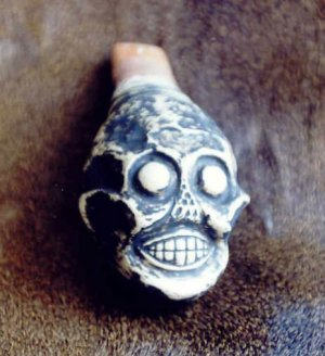 Aztec death whistle