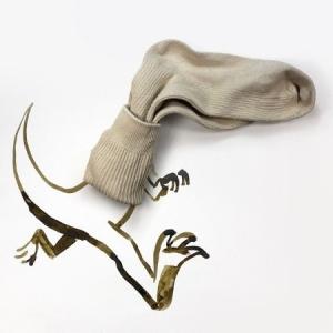 Christoph Niemann - Dinosaur