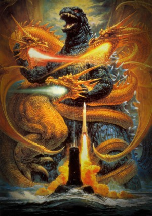 Godzilla vs Golden Dragons