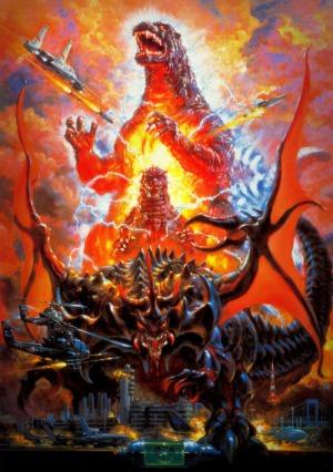 Godzilla vs Satan