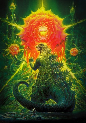 Godzilla vs the Giant Plants