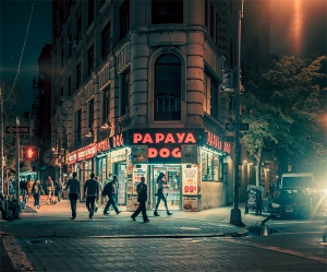 New York (Papaya) - Franck Bohbot