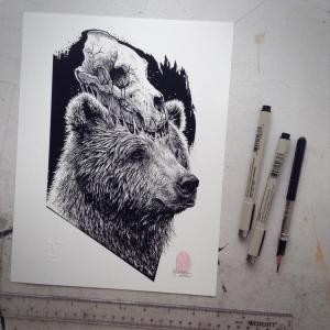 Bear-Skull - Paul Jackson