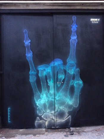 Shok_1 - XRay Graffiti London