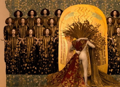 inge-prader-life-ball-gustav-klimt-paintings-designboom-04