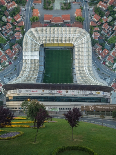 Warped cities (inception) - Aydin Buyuktas - Fenerbahce stadium