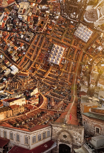 Warped cities (inception) - Aydin Buyuktas - Grand Bazaar